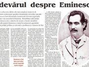 ziaristul Mihai Eminescu