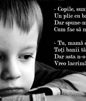 O Romnc Din Diaspora A Scris Superb Poezie Pentru Copilul Lsat